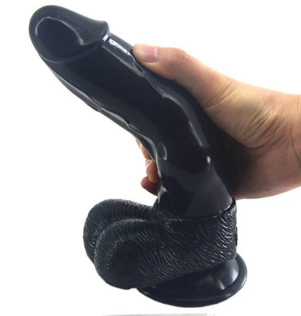Heartley Mustang Silicone Realistic Dog Dildo Anal Butt Sucker