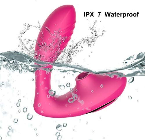 Clitoral-Sucking-Vibrator-G-Spot-Clit-Dildo-Vibrators-Waterproof-Rechargeable-Clitoris-Stimulator-with-10-Suction-Vibration-Patt