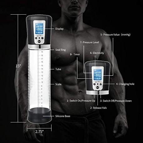 Electric Rechargeable Automatic High-Vacuum Penis Enlargement Pump